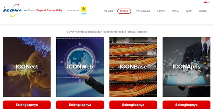 Paket Internet Murah PLN ICON+ Iconpln.co.id