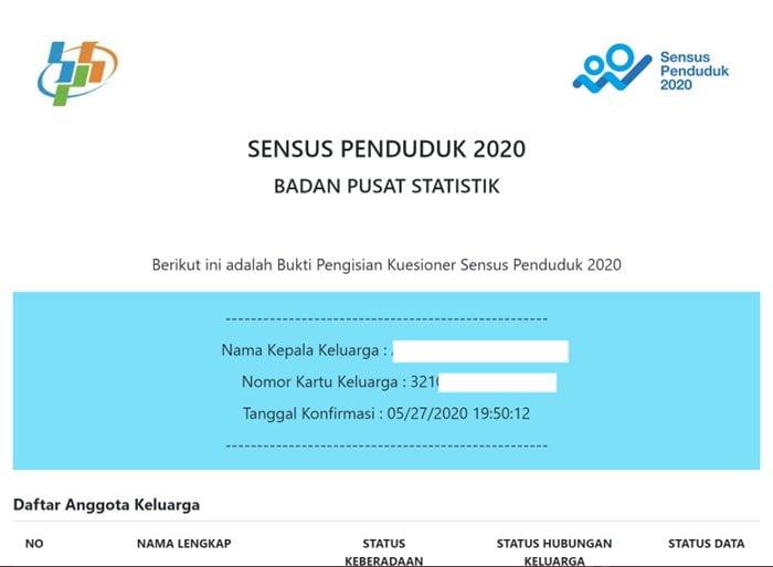 Gambar Sensus Penduduk Online 2020