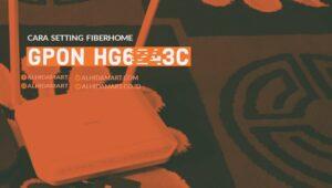 Setting Modem GPON HG6243C Jadi Akses Point